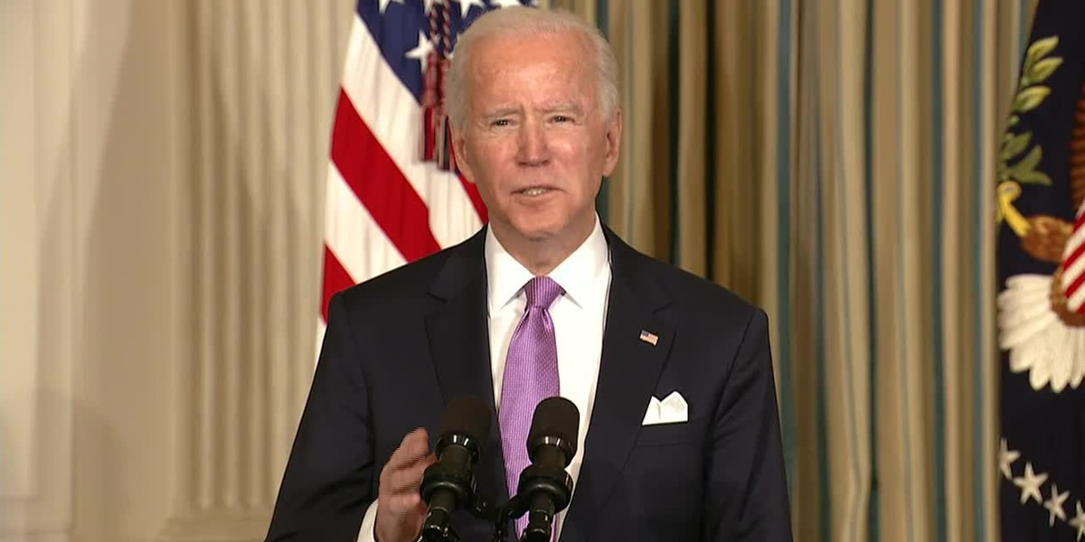 LOCAL NEWS LIVE: Biden gives remarks on COVID-19 pandemic fight