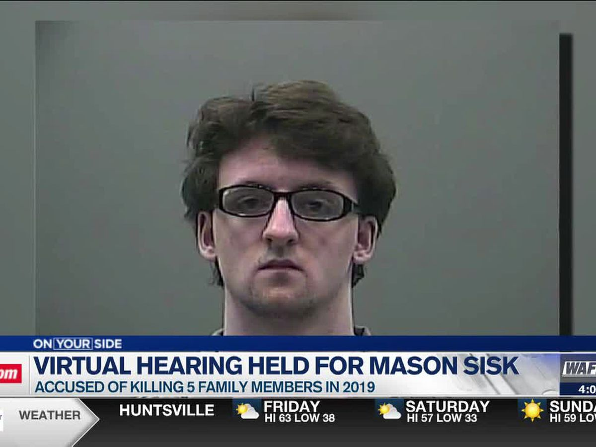 Judge allows Mason Sisk to visit crime scene, latest hearing on capital murder case