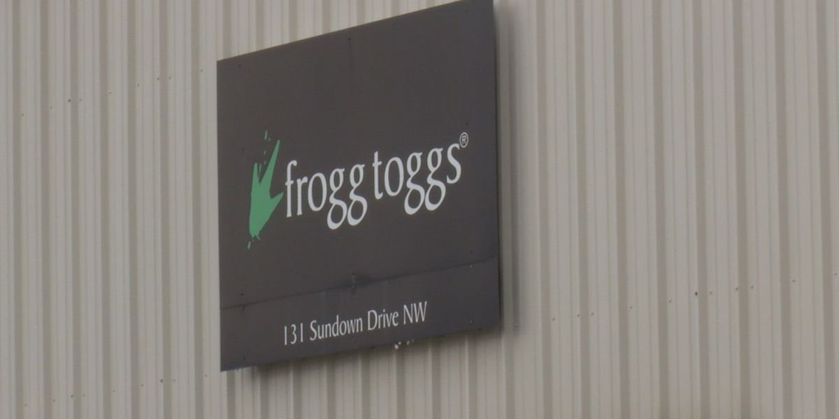 Frogg Toggs in Arab building new warehouse