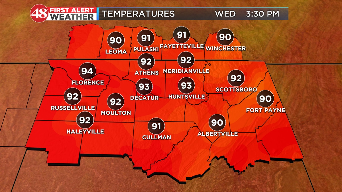 Record heat possible today and through the weekend