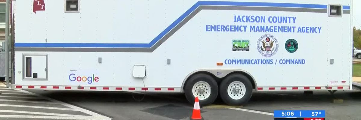 Jackson County EMA unveils new command trailer