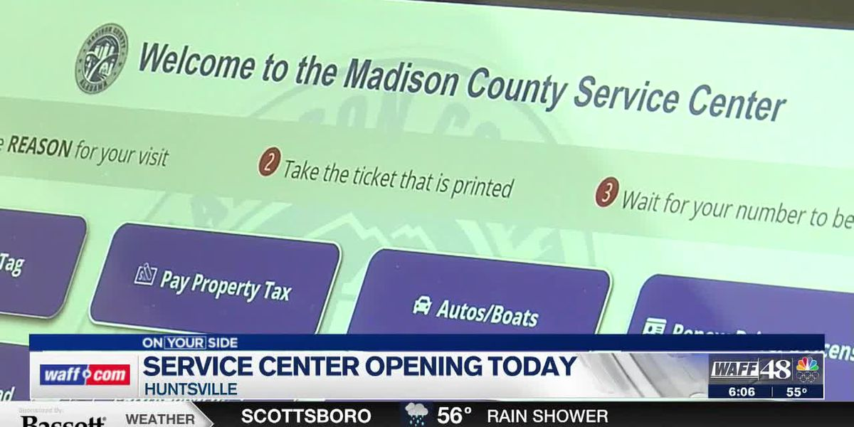 New Madison County Service Center open for business