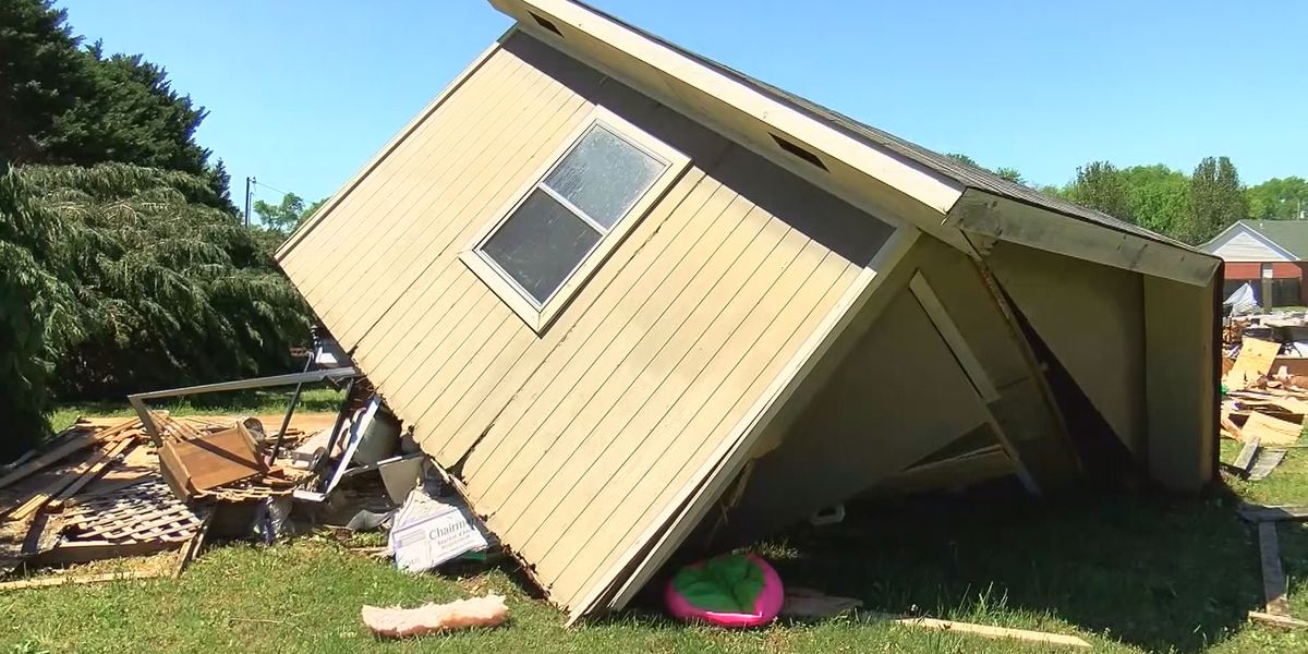 NWS confirms 2 EF1 tornadoes touched down in the Shoals