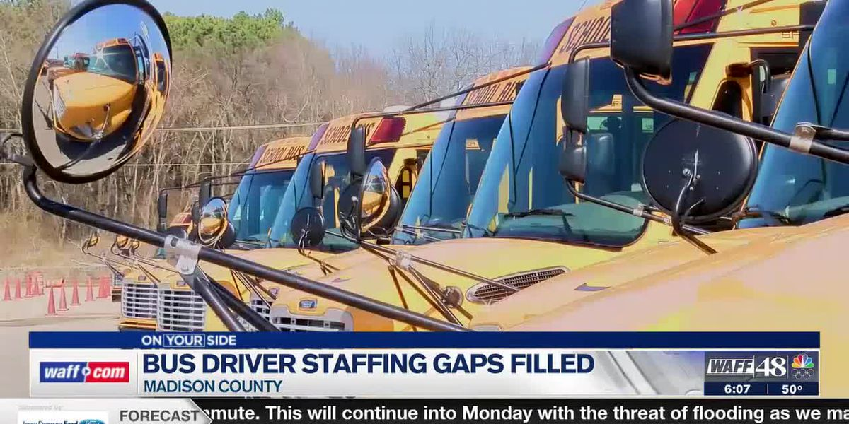 Madison County School district fills bus driver staffing gaps, keeps bus fleet up to date