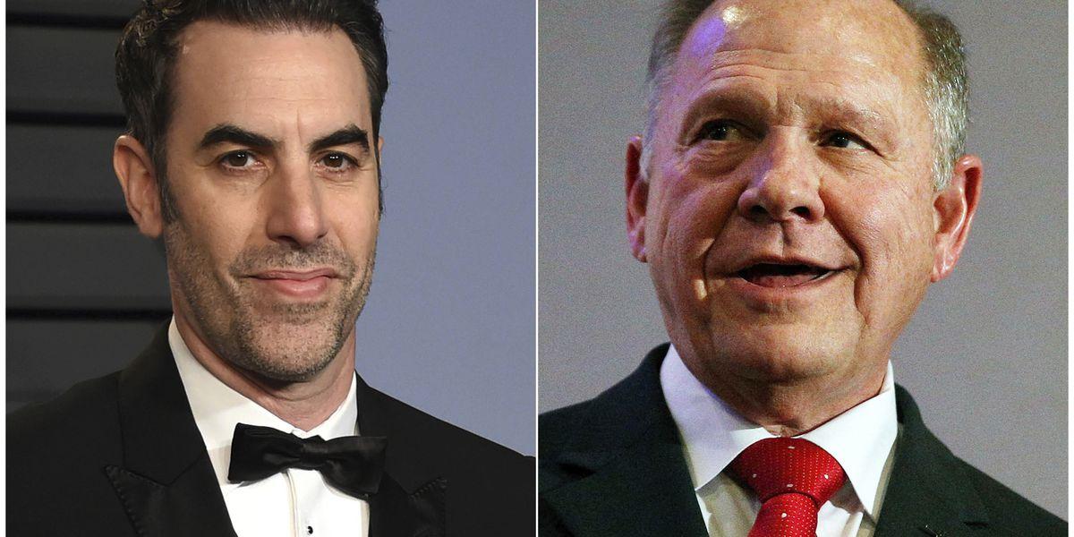 Roy Moore sues Sacha Baron Cohen over 'defamatory' TV prank