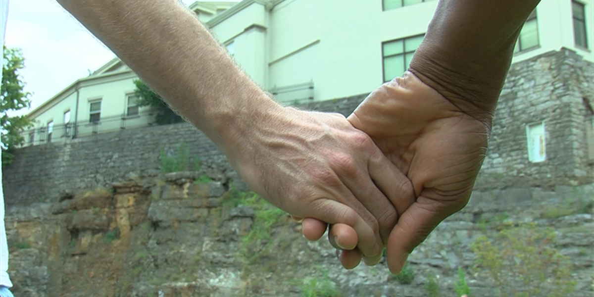 Human chain event brings attention to domestic violence
