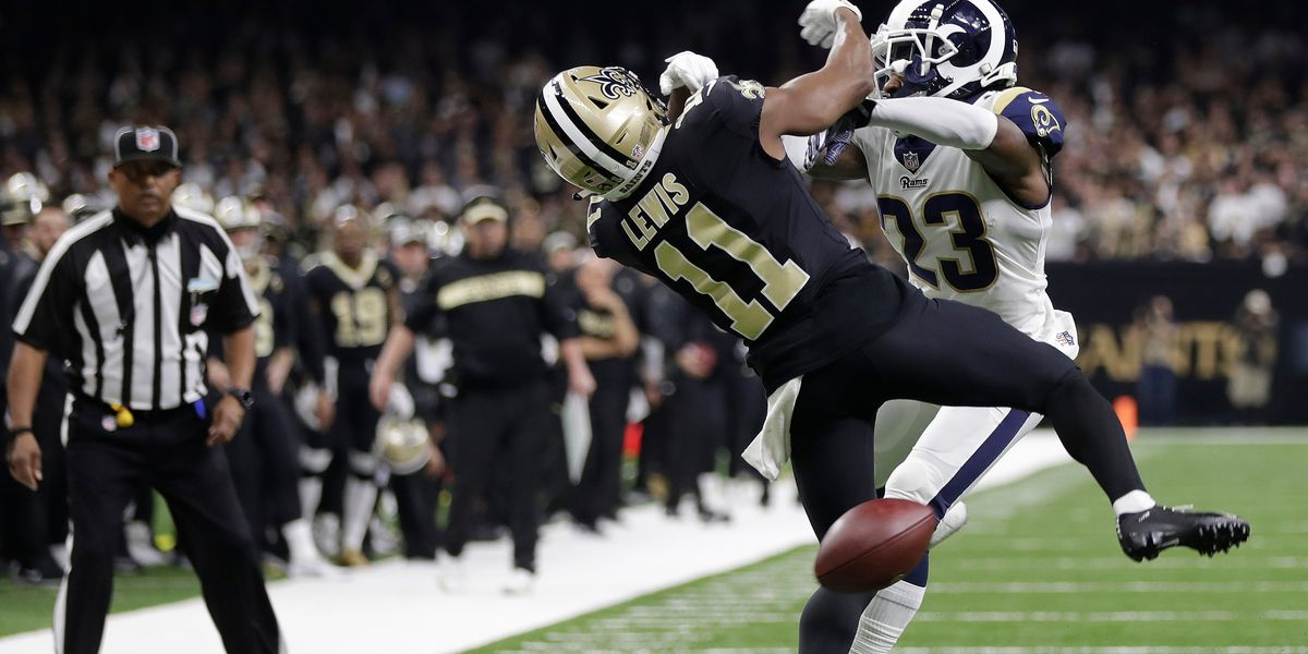 NFL: Pass interference now reviewable by officials