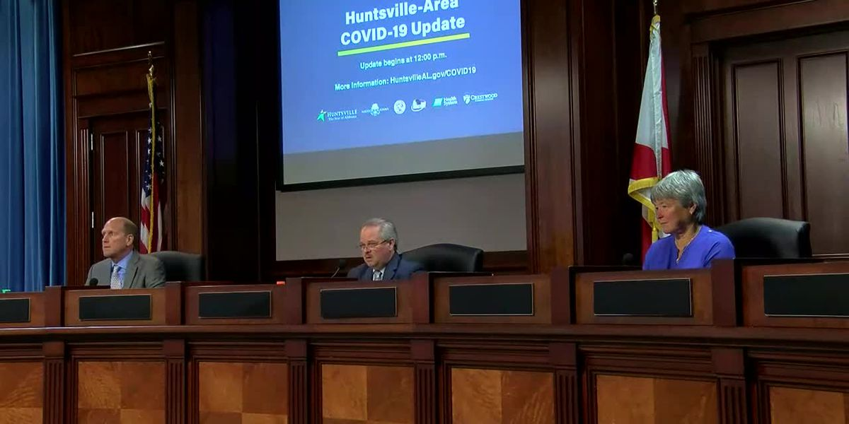 Huntsville officials update latest on COVID-19