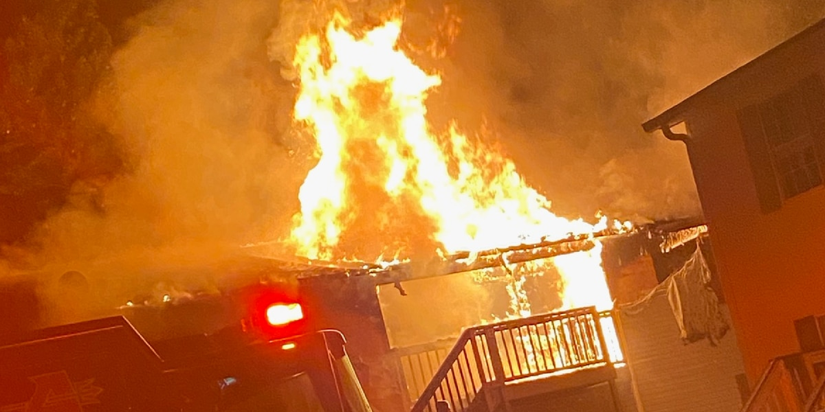 Early morning fire in Albertville damages Governor's Place Apartments, one man arrested