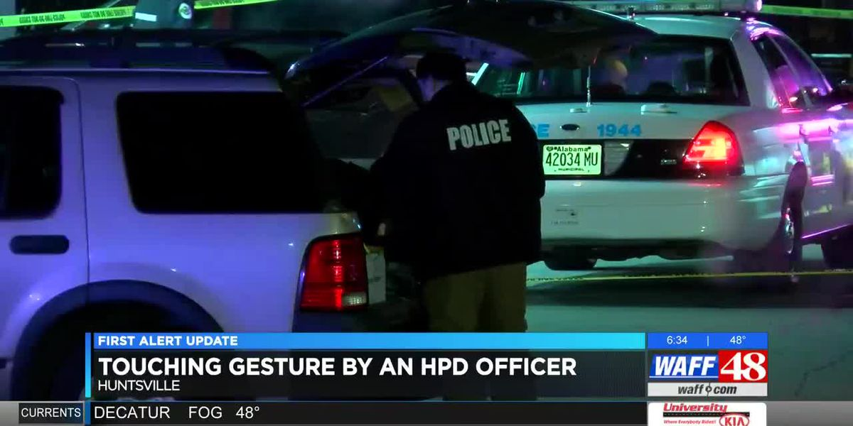 Touching gesture by HPD