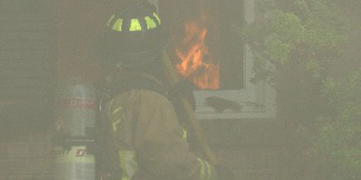 Huntsville firefighters get hands-on experience with big live fire training event