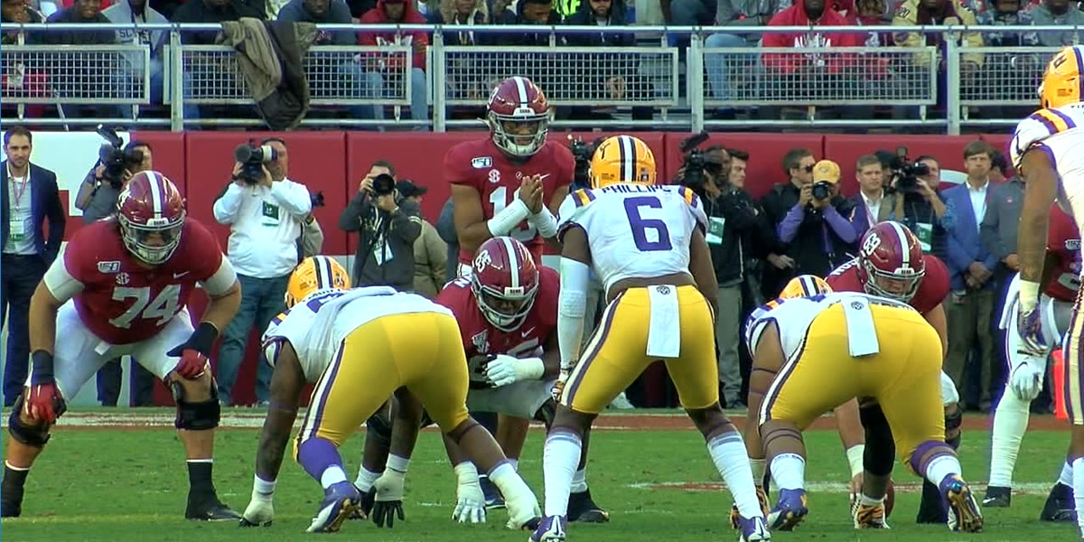 No. 2 LSU beats No. 3 Crimson Tide in Tuscaloosa