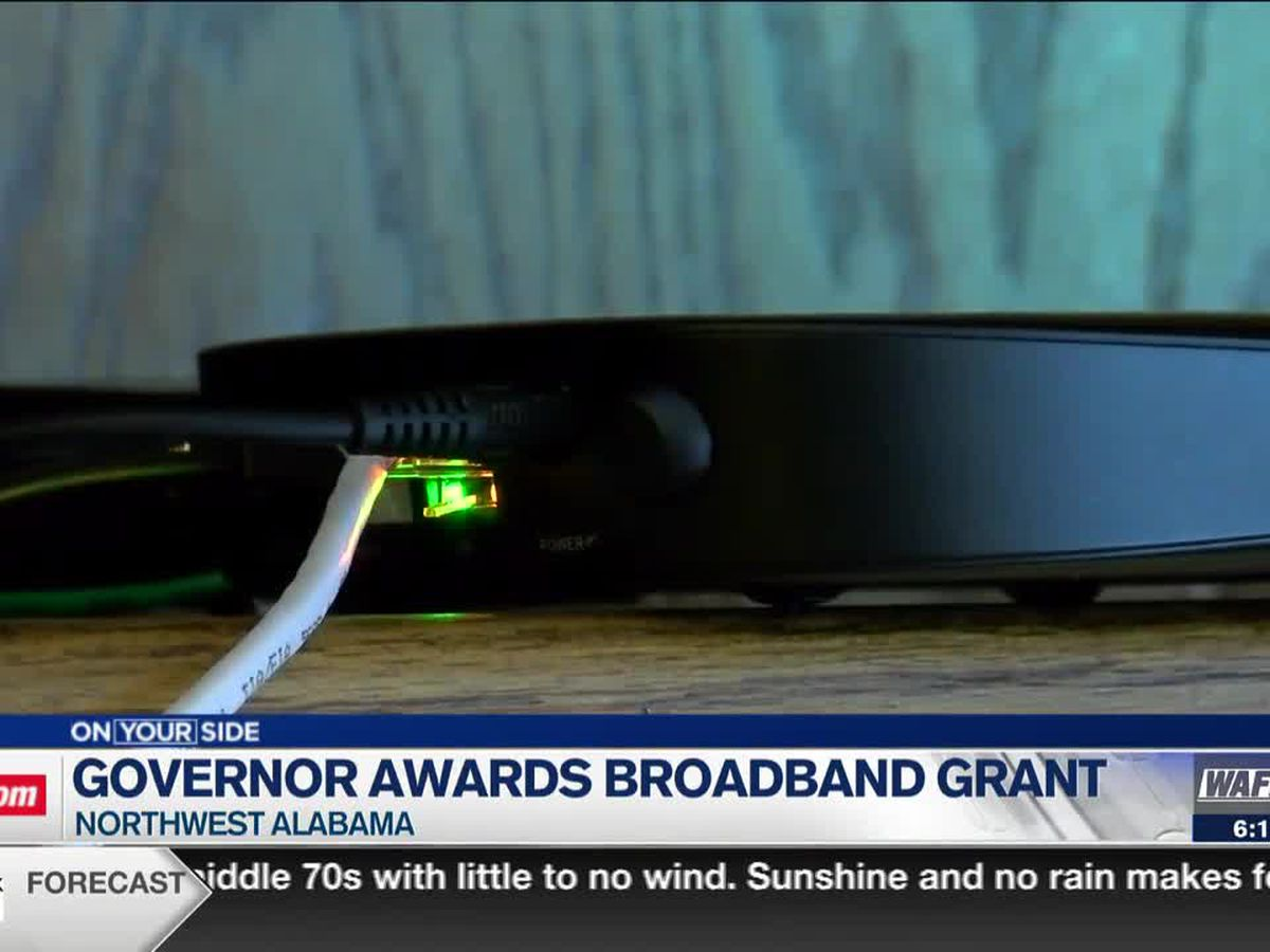 State grant helps provide broadband service in rural, unserved areas