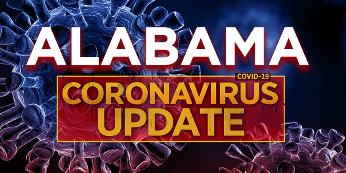 COVID-19 in Alabama: 1,833 new confirmed cases on Sunday