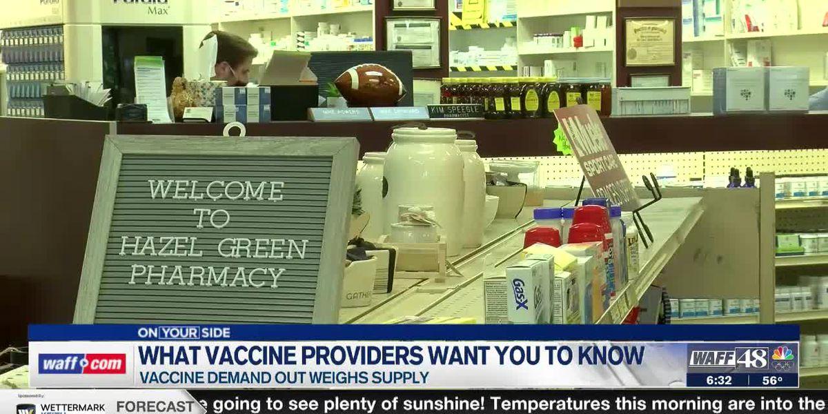 Local pharmacists talk strain of providing vaccines