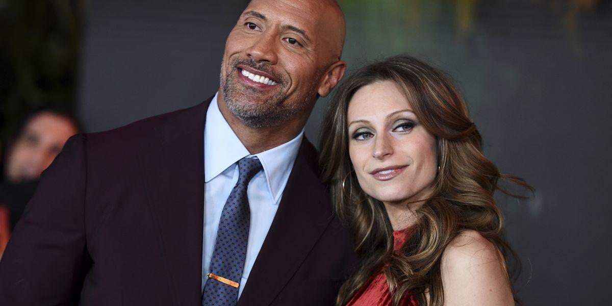 07dd0e239 We do': Dwayne 'The Rock' Johnson marries longtime girlfriend