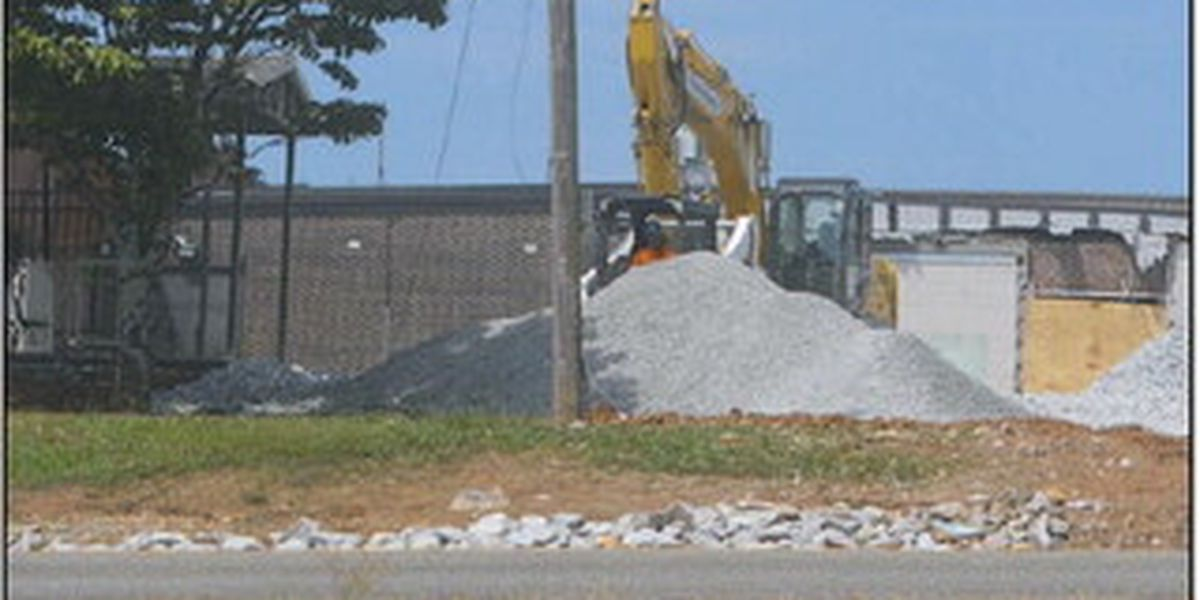 Old West Limestone elementary demolished