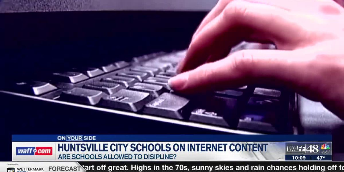 Huntsville City School leaders are expressing concern over student's internet content