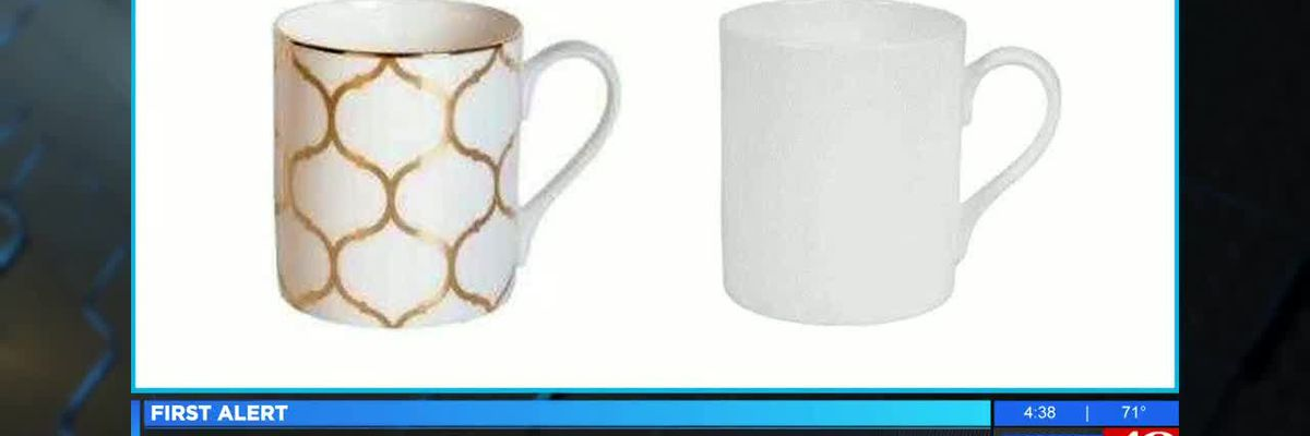 Coffee mugs sold at Bed Bath and Beyond recalled due to burn and laceration hazards