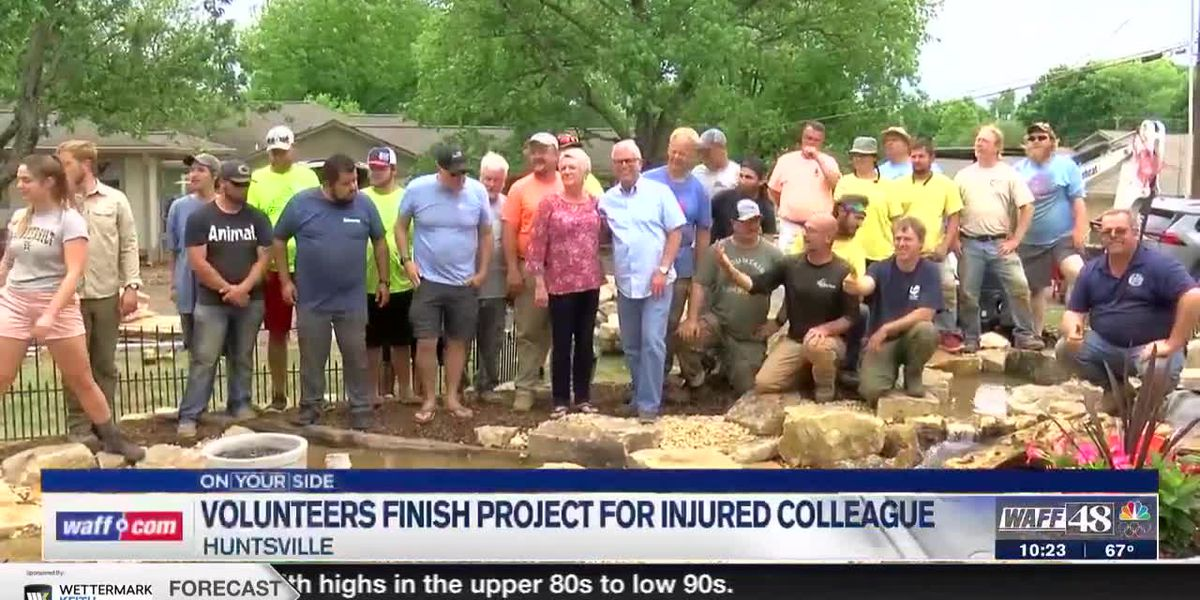 Workers from around the country help paralyzed contractor fulfill job