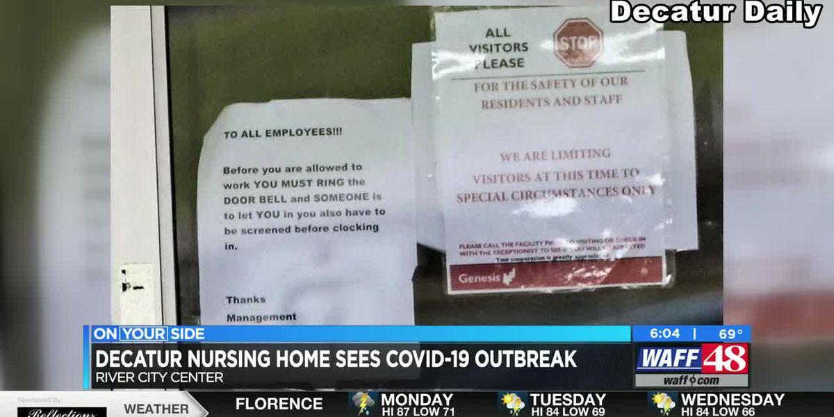 Decatur nursing home seeing COVID-19 outbreak