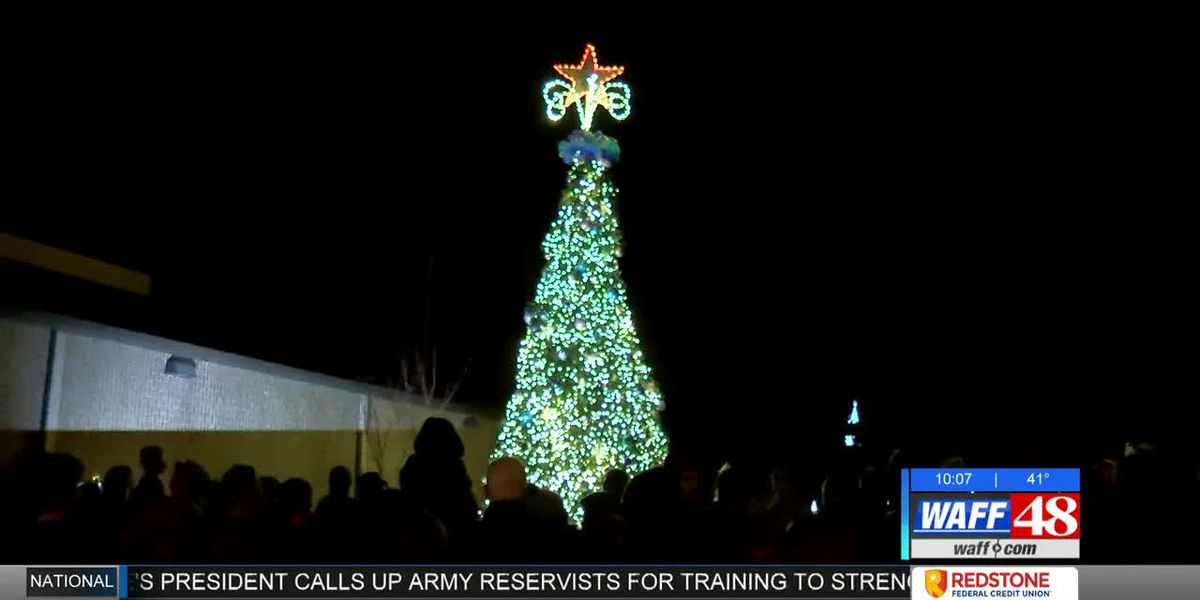 Redstone Arsenal rings in the holidays with sparkling tree displays