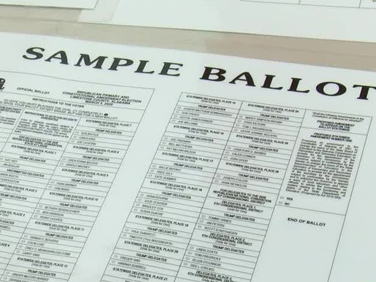 Decision 2020: Things to know for Tuesday's primary runoff election