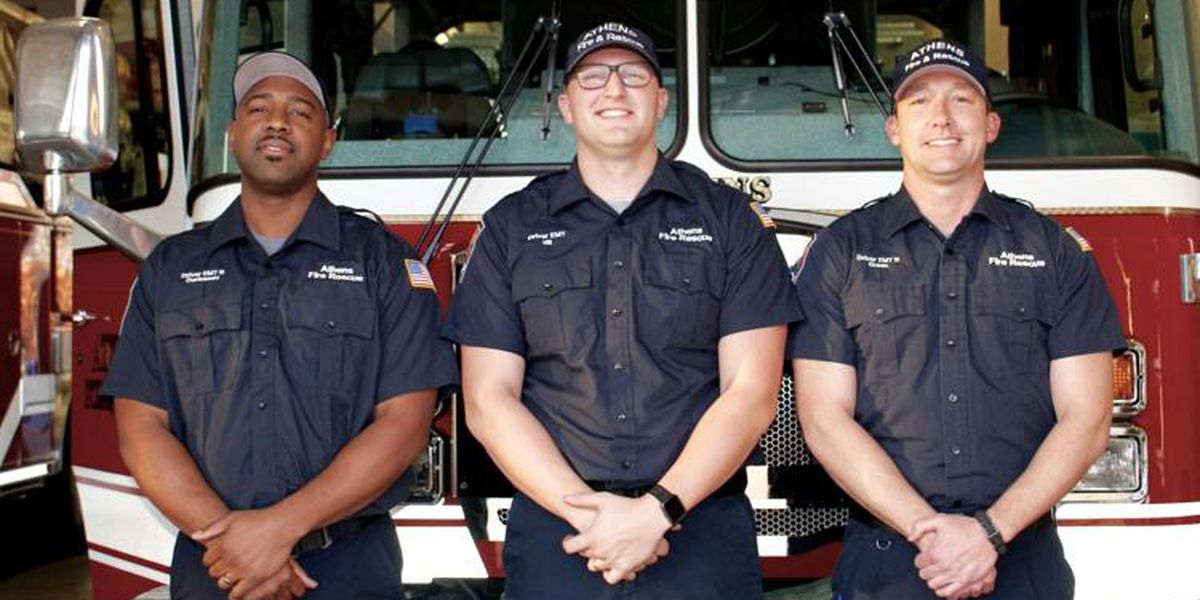 Athens firefighters to be honored for water rescue