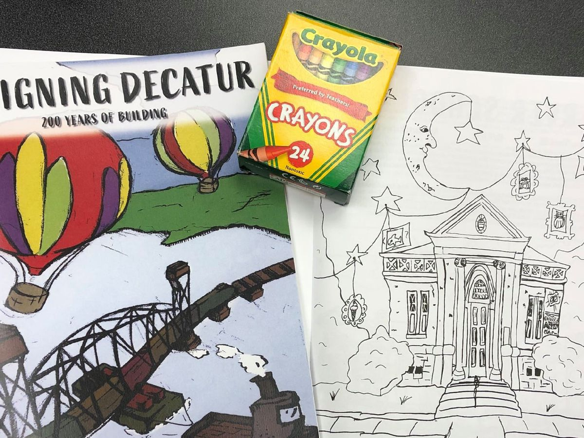 Students design Decatur with the iHeartDecatur Art Contest