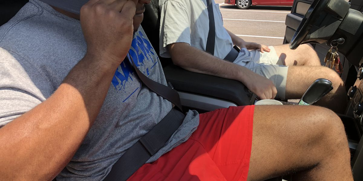 Study shows people still don't buckle up