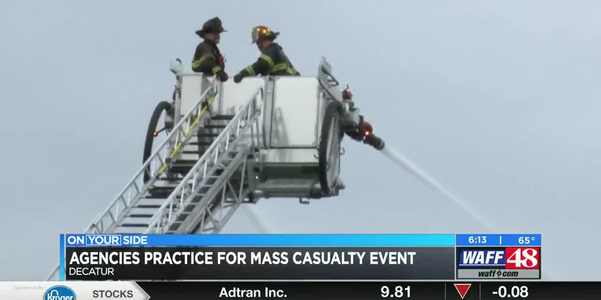 First Responders Train for Mass Casualties