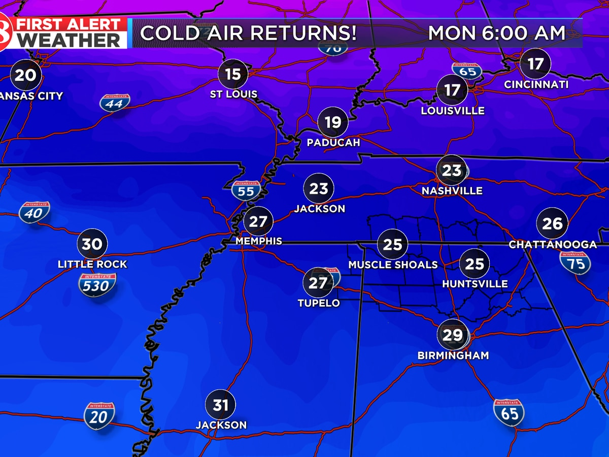Arctic cold front on the way this weekend