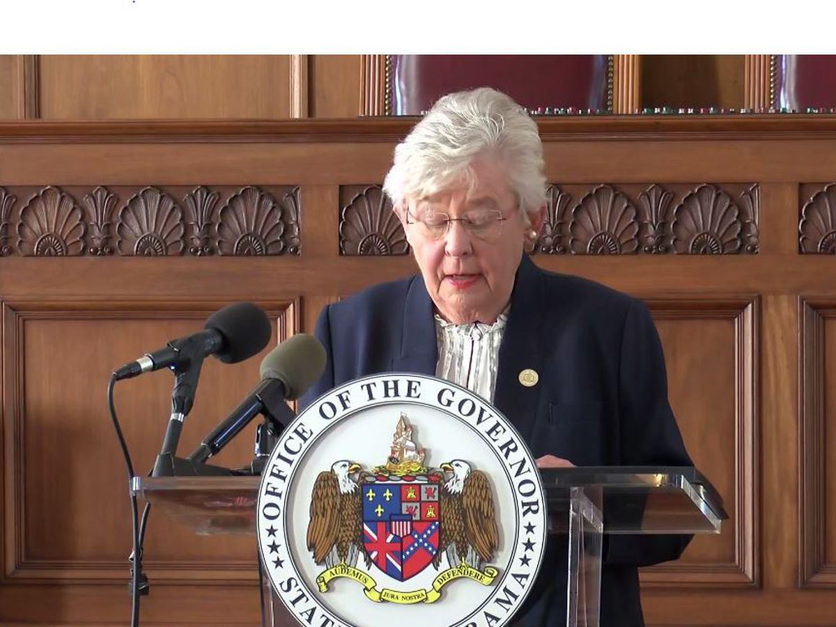 Gov. Ivey speaks at 11 a.m. on 'Safer at Home' order, mask mandate