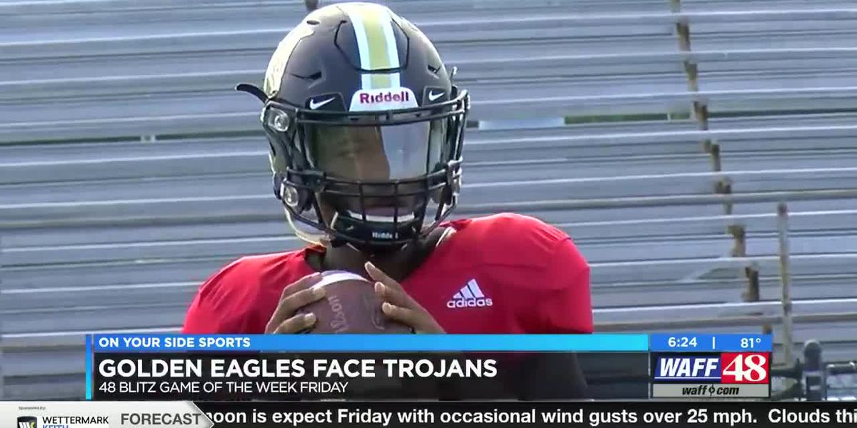 Golden Eagles face Trojans, Grissom wins Week 3 Play of the Week
