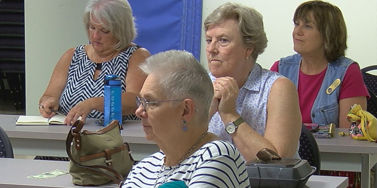 Madison County senior citizens get crime prevention training