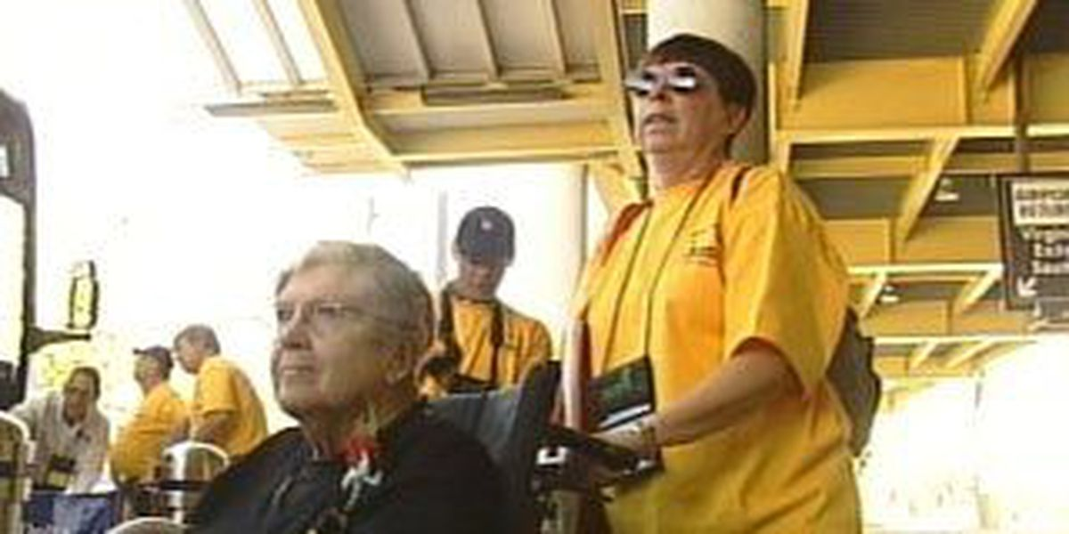 One woman almost missed her Honor Flight