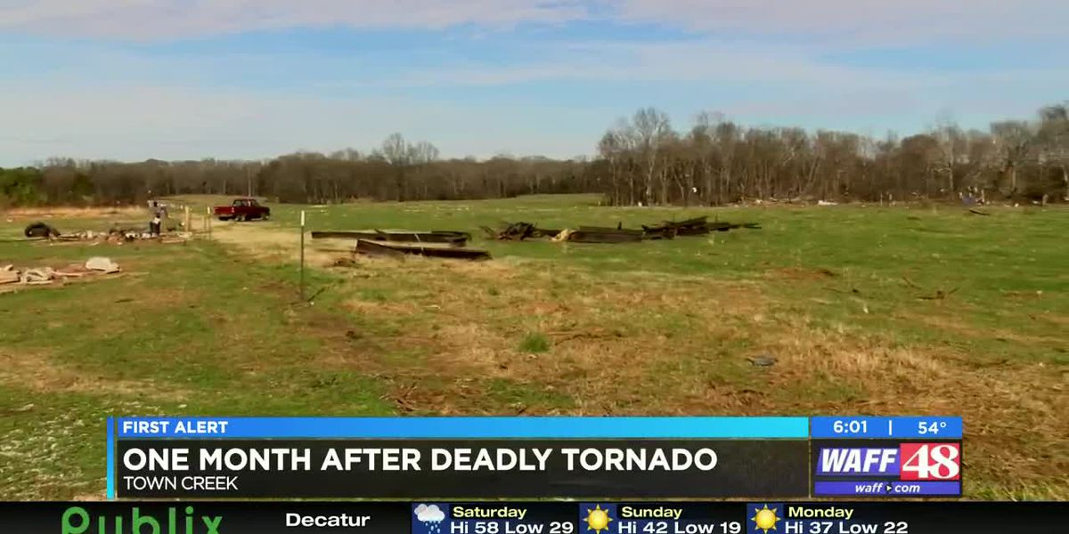 Residents still grieving over loss from deadly Lawrence County tornado