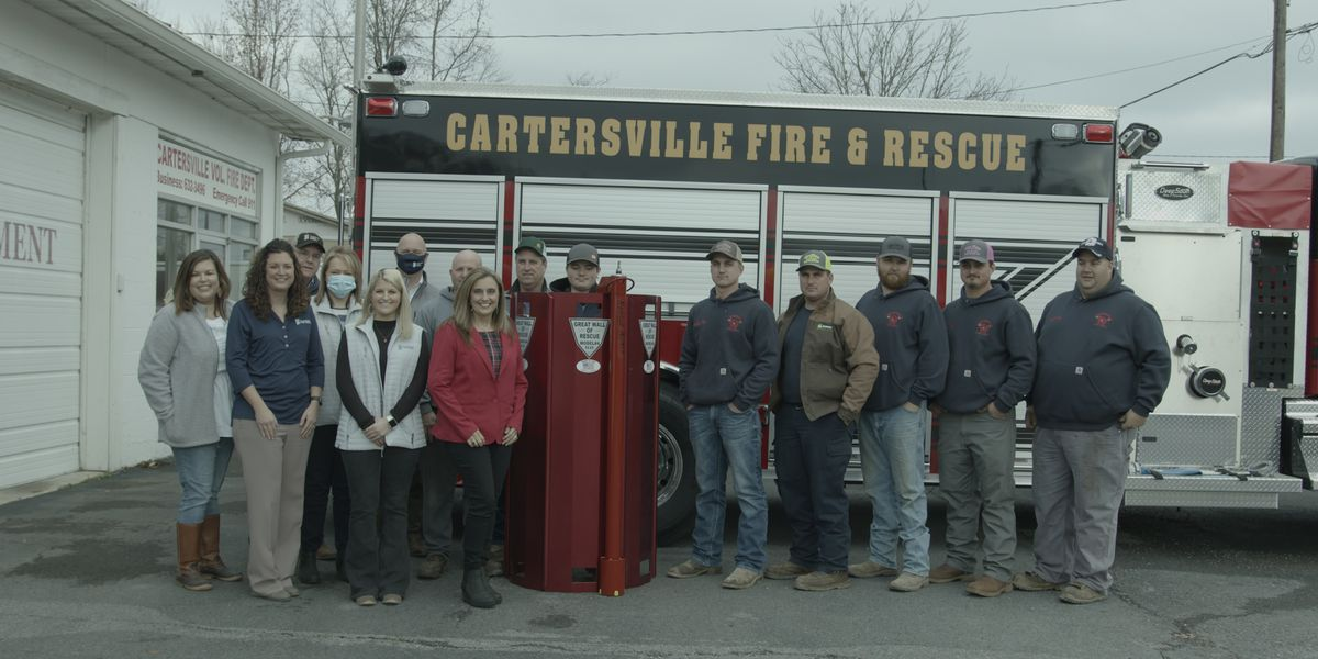 Alabama Farm Credit donates life-saving rescue equipment to local fire department