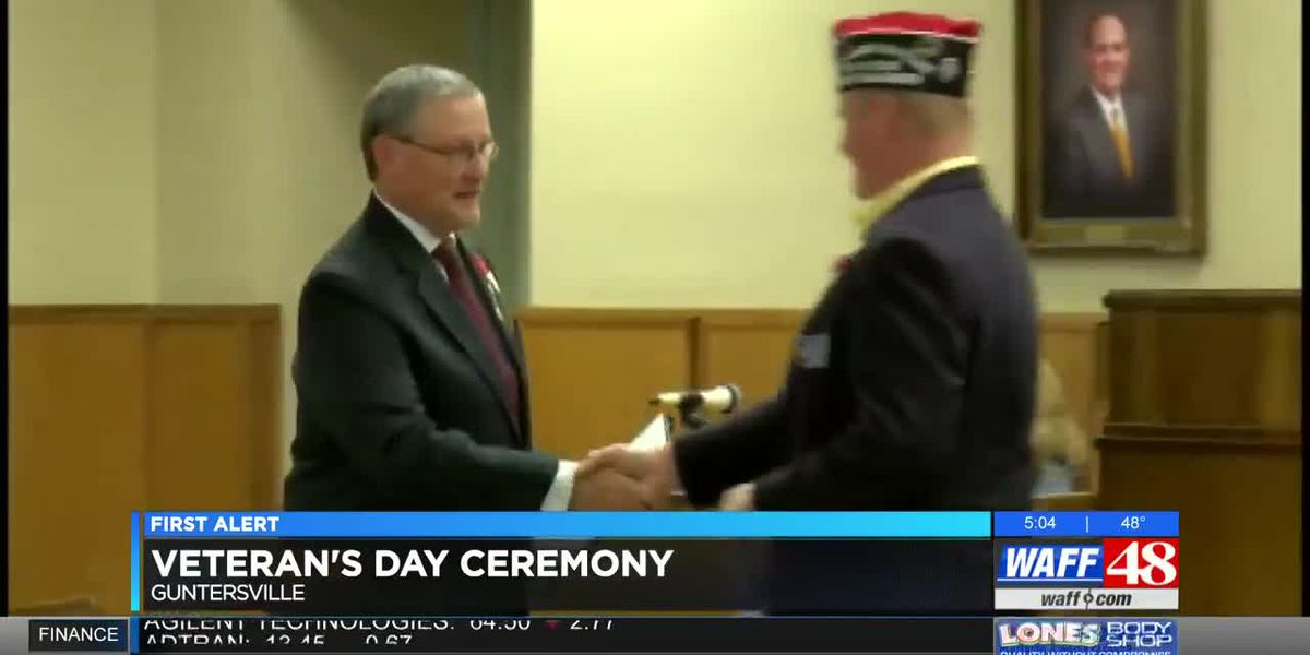 Residents come together in Marshall County to honor veterans
