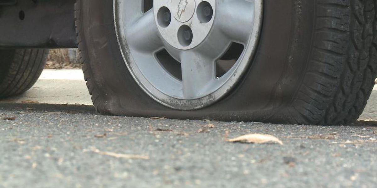 Metal shavings causing multiple flat tires in Colbert County on Thursday