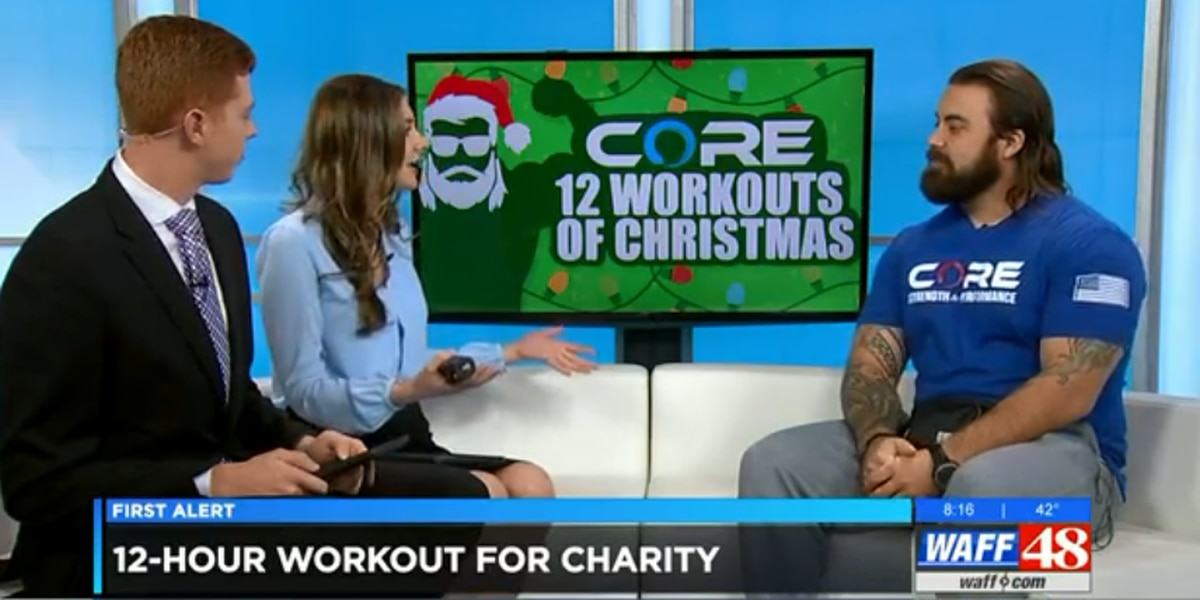 """12 Workouts of Christmas"" raises money for local charity"