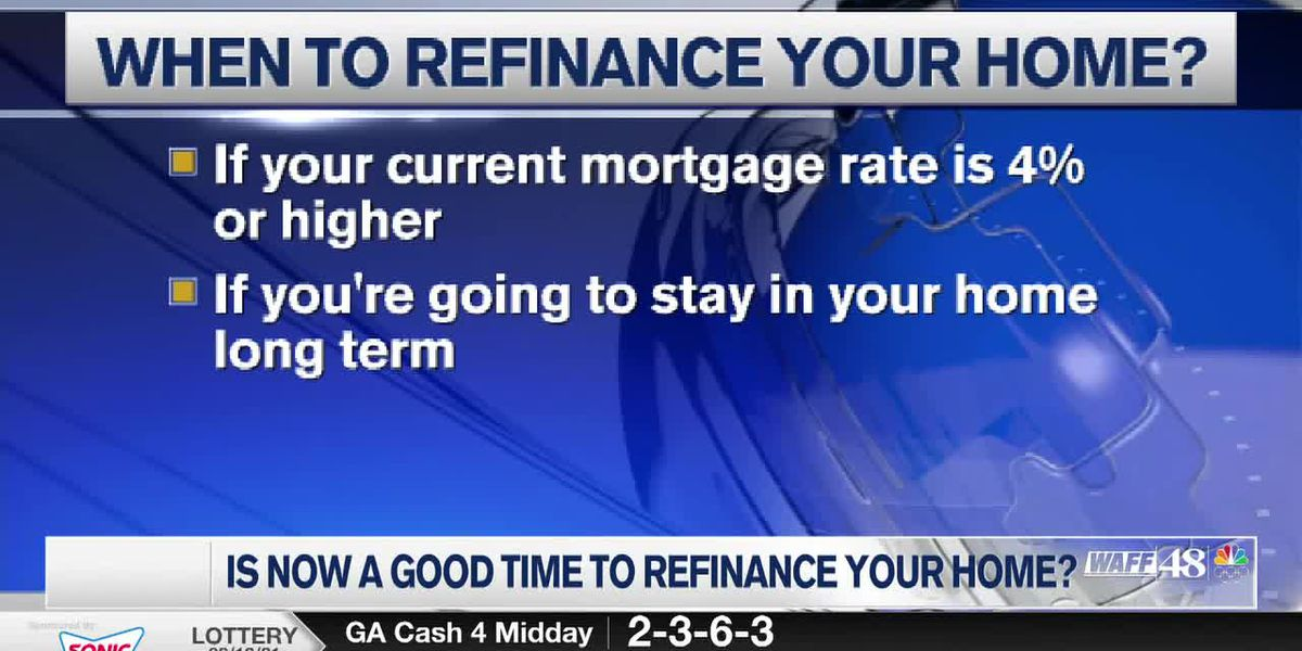 Financial Friday: Is now a good time to refinance your home?