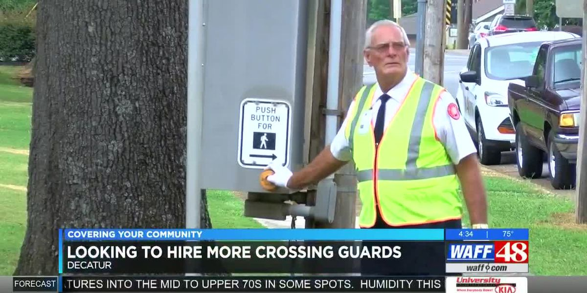 Decatur police looking to hire more crossing guards