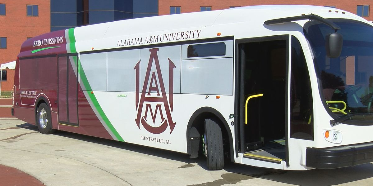 Alabama A&M unveils electric buses