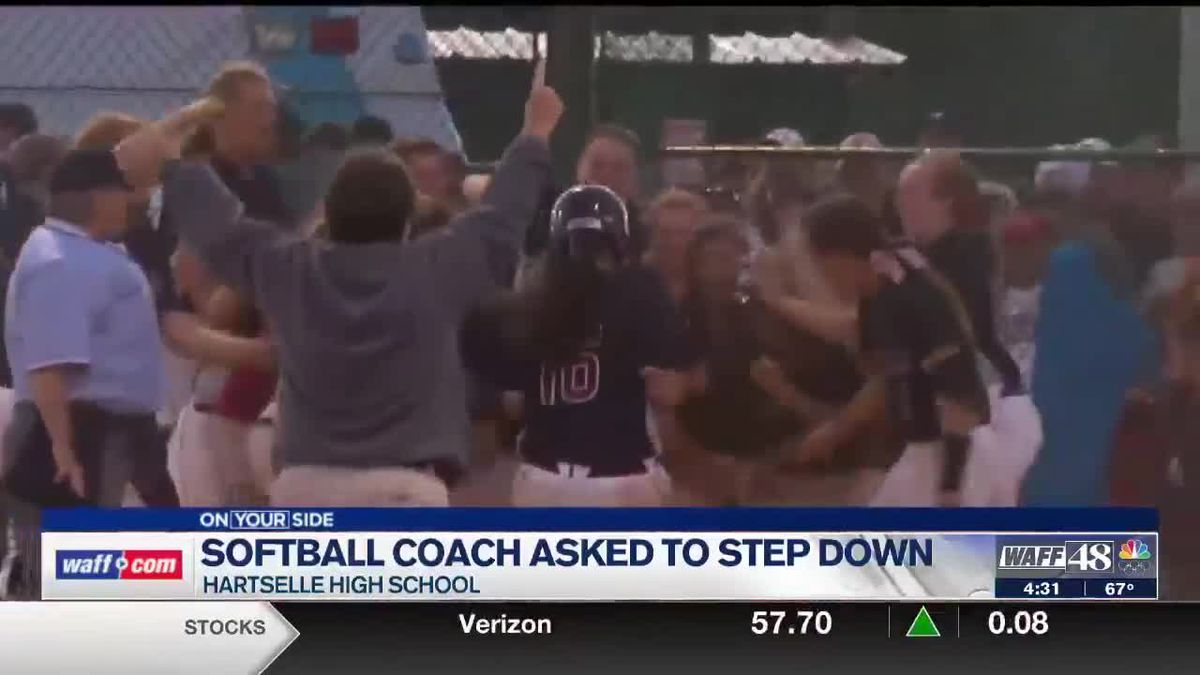 Hartselle community rallying behind long-time softball coach who was asked to step down from position