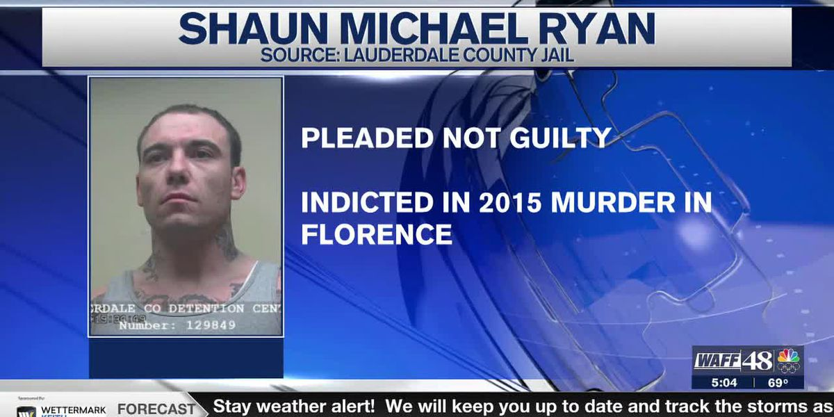 Man accused of murder in Muscle Shoals pleads not guilty