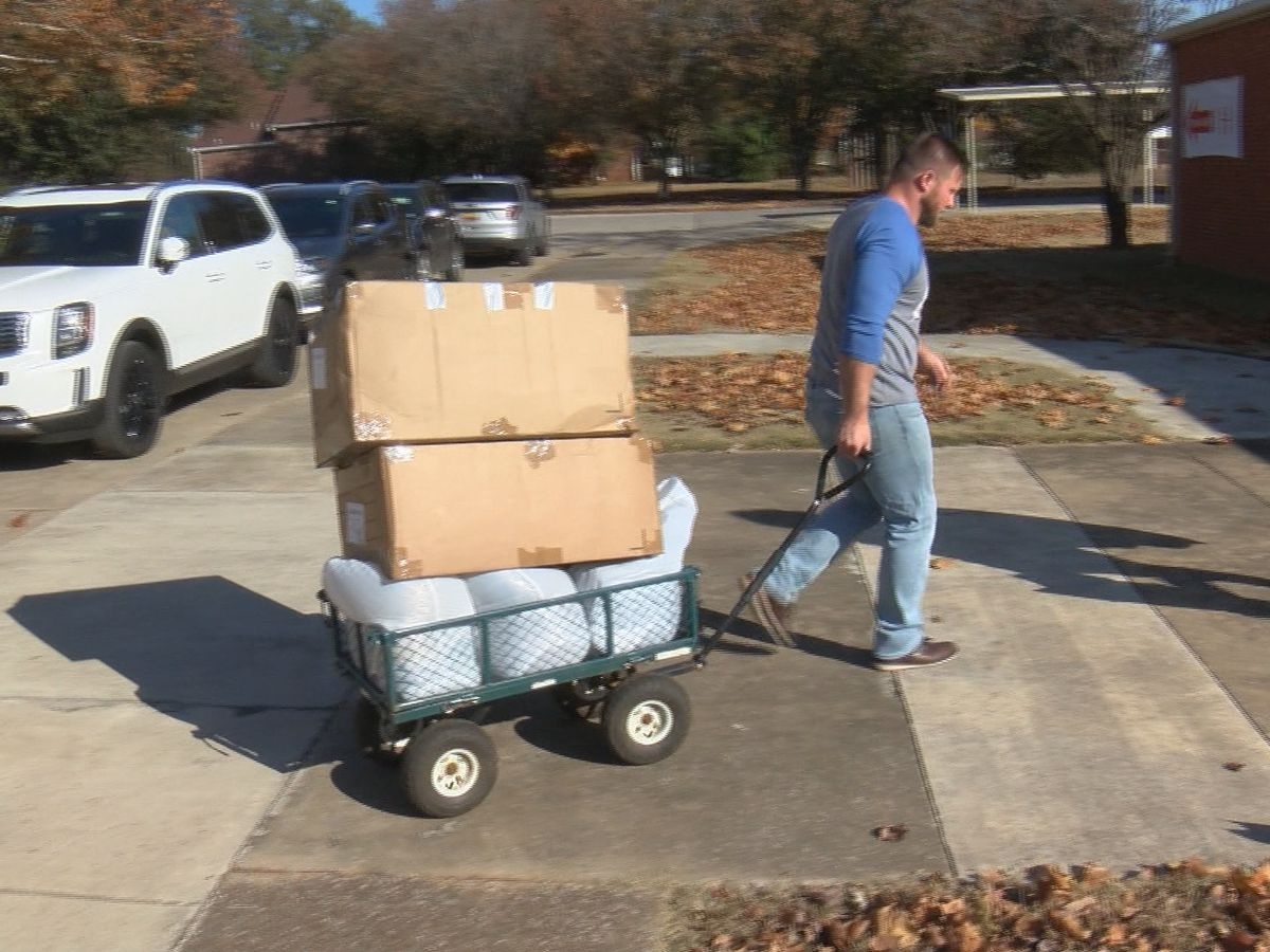 Nonprofit hosts donation drive after death of homeless man in Huntsville
