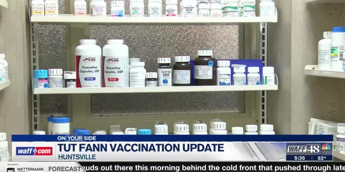 Huntsville state veterans home gets new CDC COVID-19 vaccination program