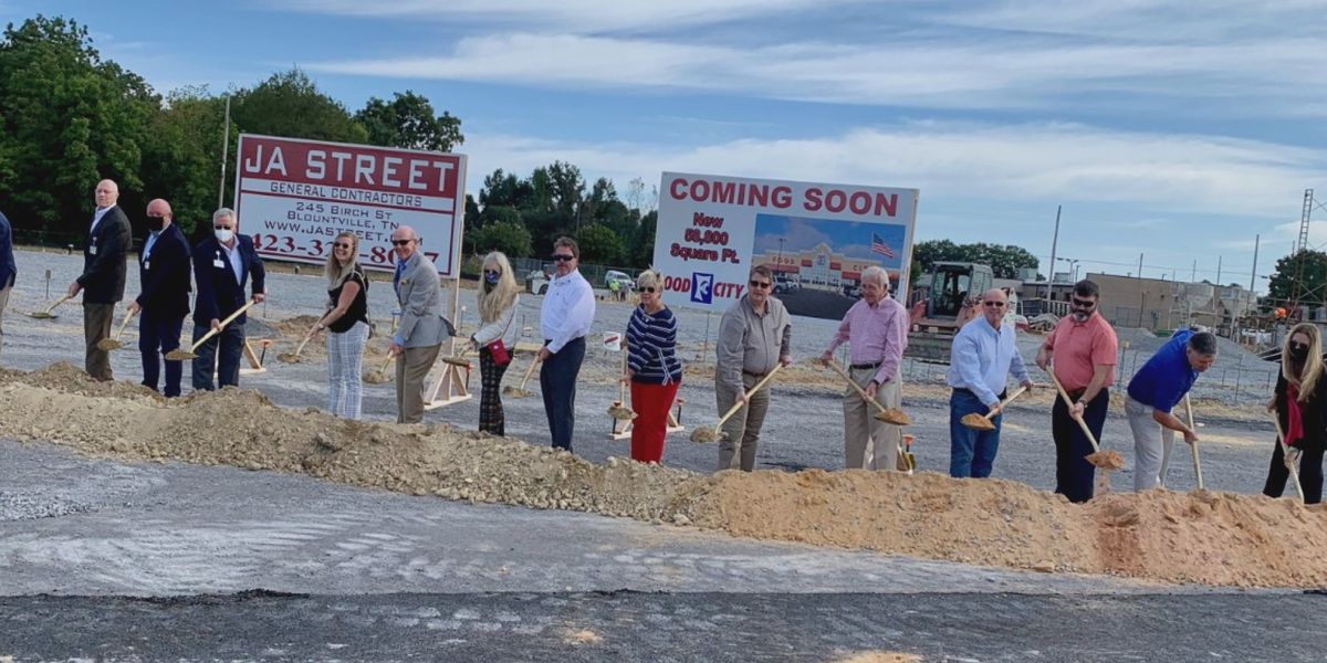 City leaders break ground on new Food City in Albertville