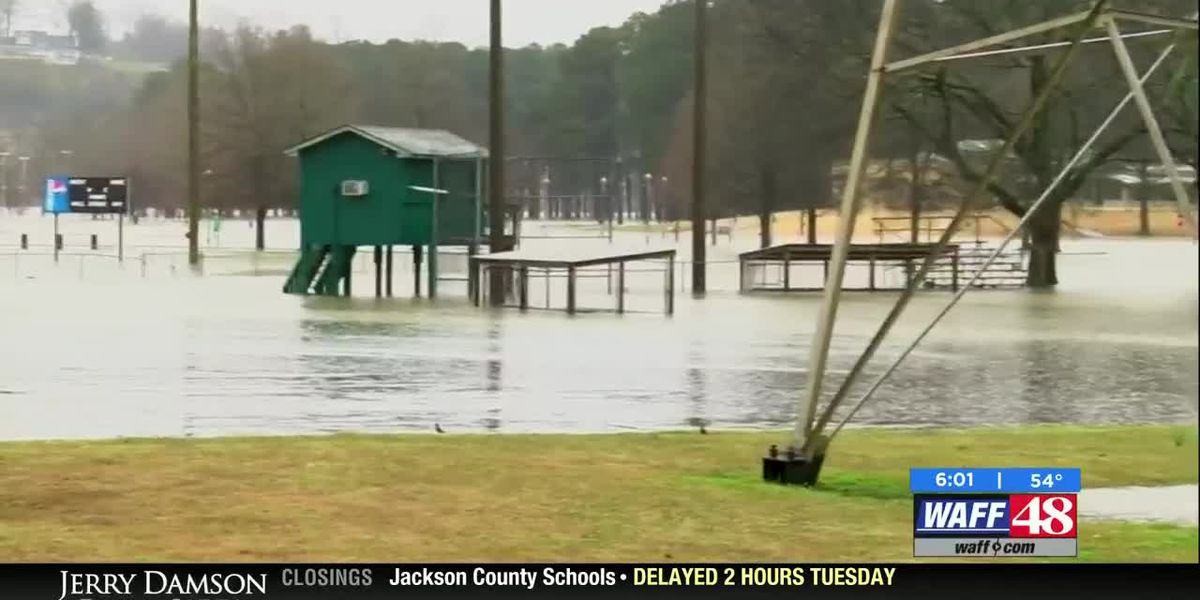 McFarland Park in Florence closed due to flooding